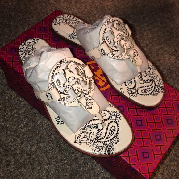 Tory Burch Miller sandals. 6.5